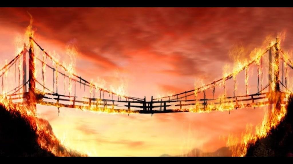 董总在放火烧桥