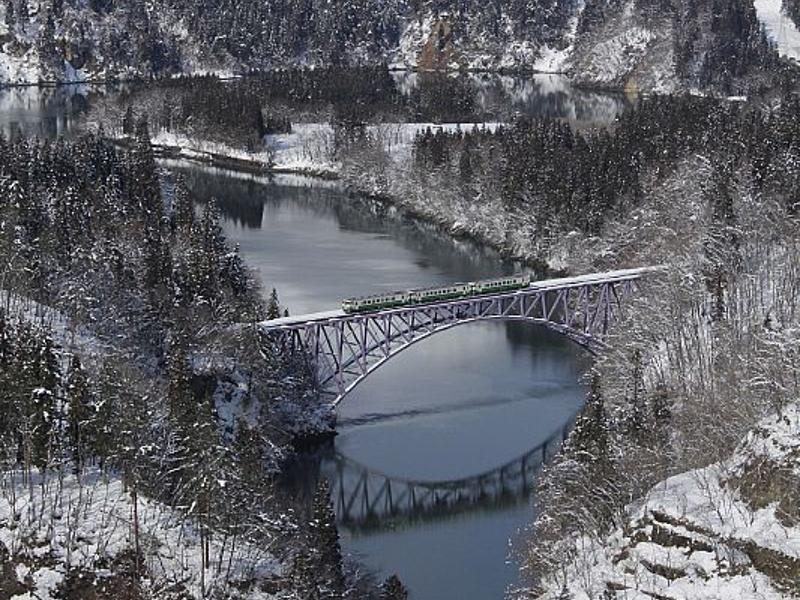 只見川第一橋樑