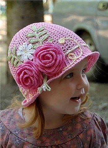 шляпки панамки для девочек вязание крючком журнал вдохновение
