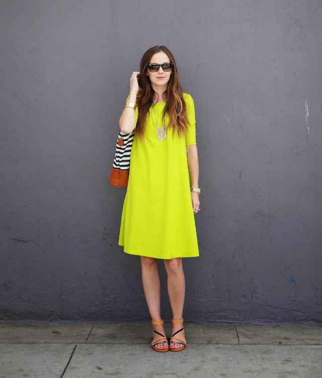 Идеальное летнее платье свободного покроя (Шитье и крой)