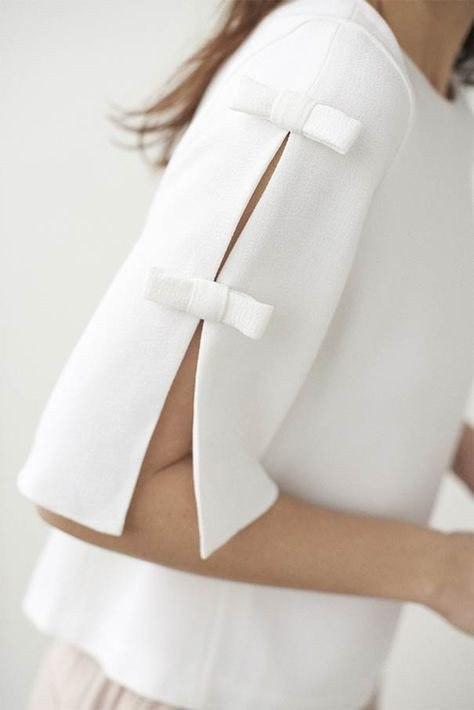 Интересный рукав - необычно и красиво (Мода и стиль)