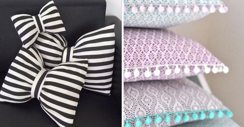 Диванные подушки своими руками: 20 великолепных идей (Шитье и крой)