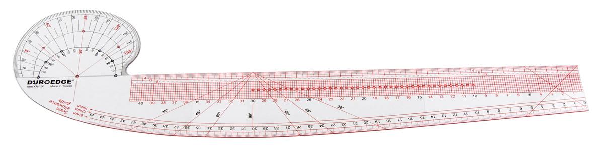 Французское лекало (перо) – инструмент закройщика одежды (Шитье и крой)