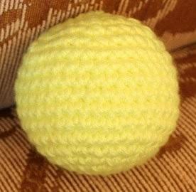Как связать шарик крючком (секрет расчета) (Вязание крючком)