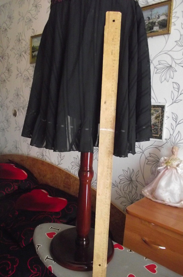 Как выравнивать и обрабатывать низ юбки или платья (Шитье и крой)