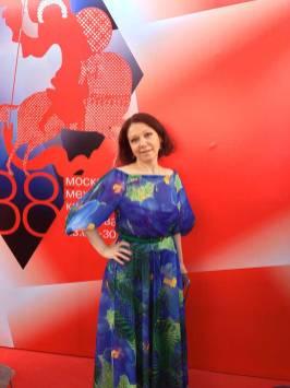 Продюсер Светлана Иванникова В Платье От L-Alix Collections
