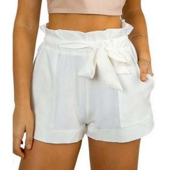 Women-Casual-Shorts-Design-Patchwork-Plus-Size-High-Waist-Shorts-Loose-Fashion-Shorts-female-With-Belt (1)