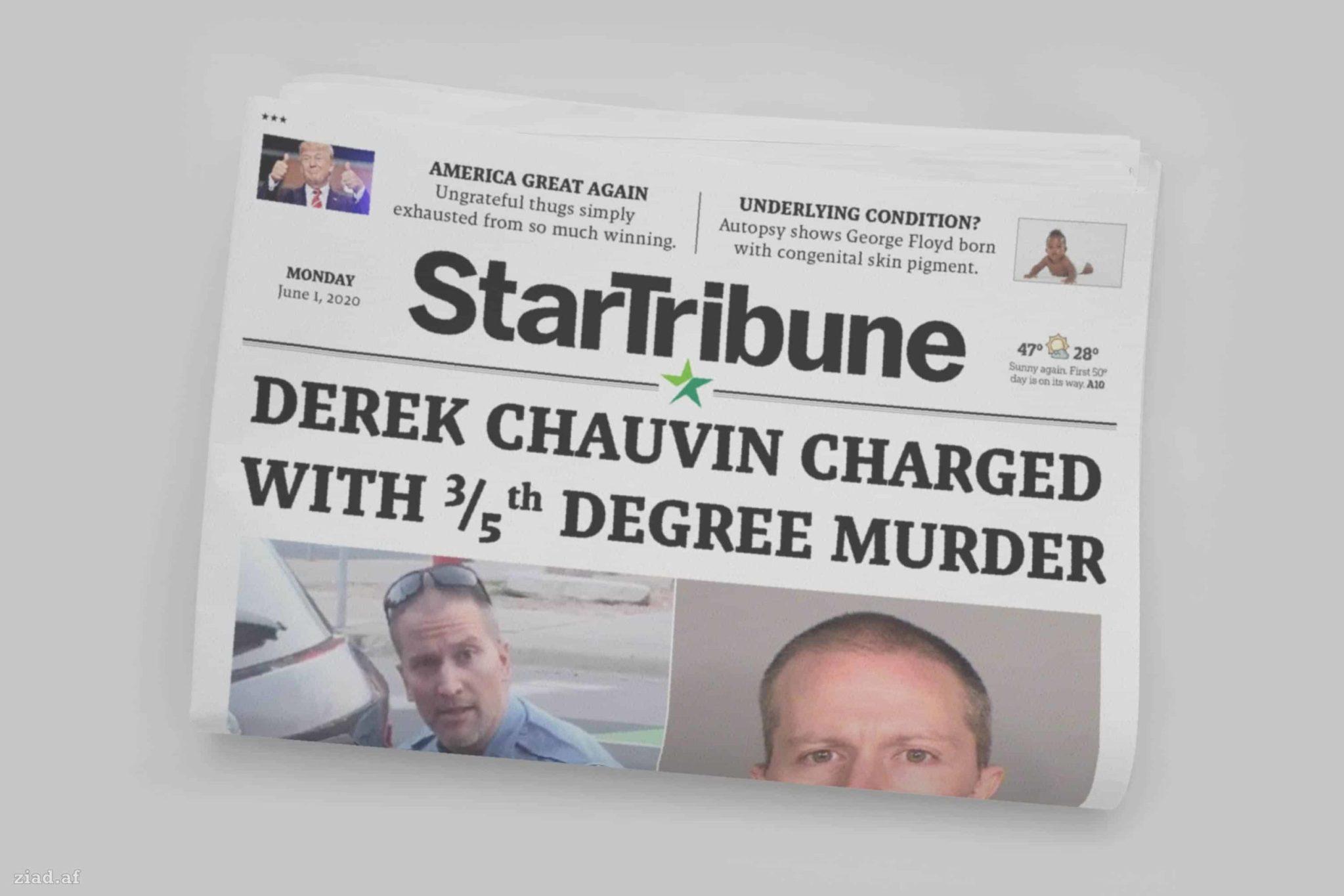 Three-Fifths Degree Murder