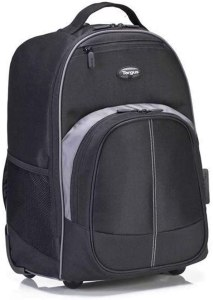 Targus Compact Rolling Backpack for Business, College Student
