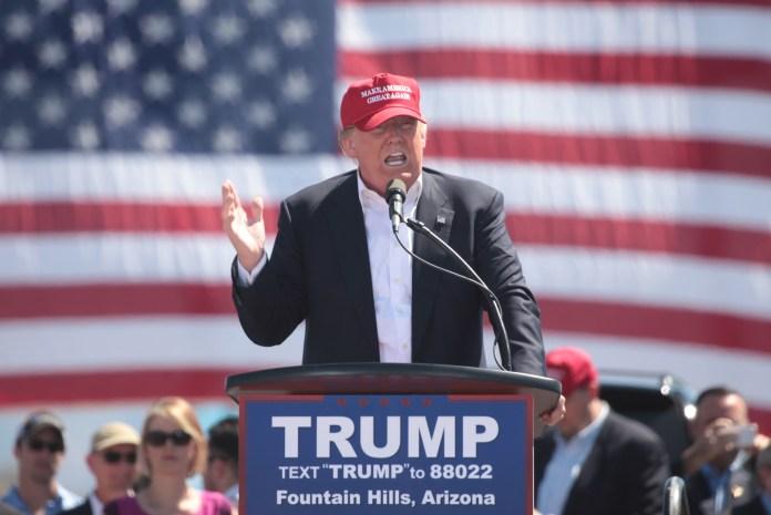 Donald Trump, presedinte SUA