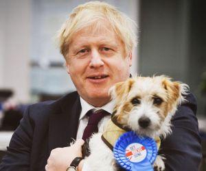 Boris Johnson si catelul Brexit