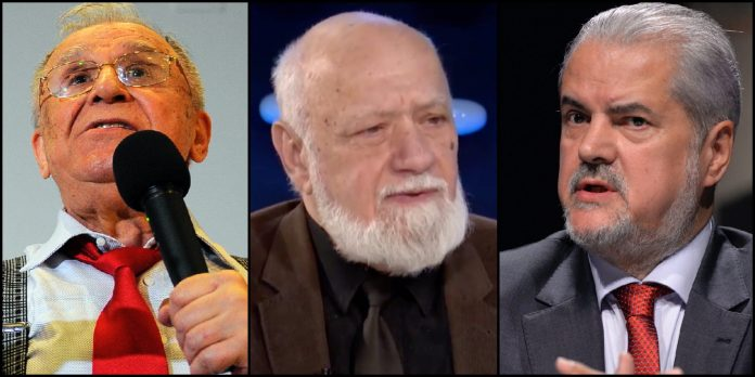 Ion Iliescu, Gelu Voican Voiculescu, Adrian Nastase, PSD