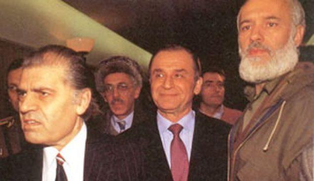 Dumitru Mazilu, Ion Iliescu, Gelu Voican Voiculescu, Romania 1990