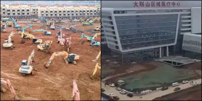 Spital China, 5 zile