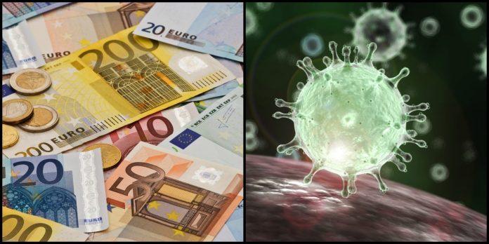 Euro, coronavirus