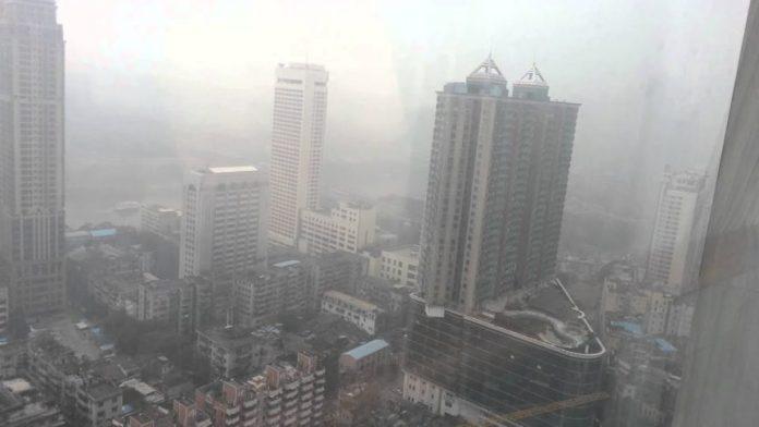 Poluare în Guangzhou – capitala provinciei Guangdong