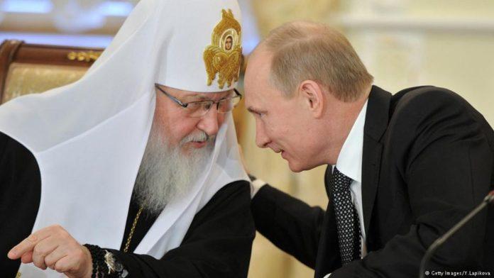Patriarhul Kiril și Presedintele Putin