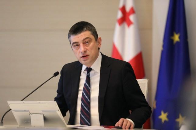 Giorgi Gakharia - primul ministru al Georgiei