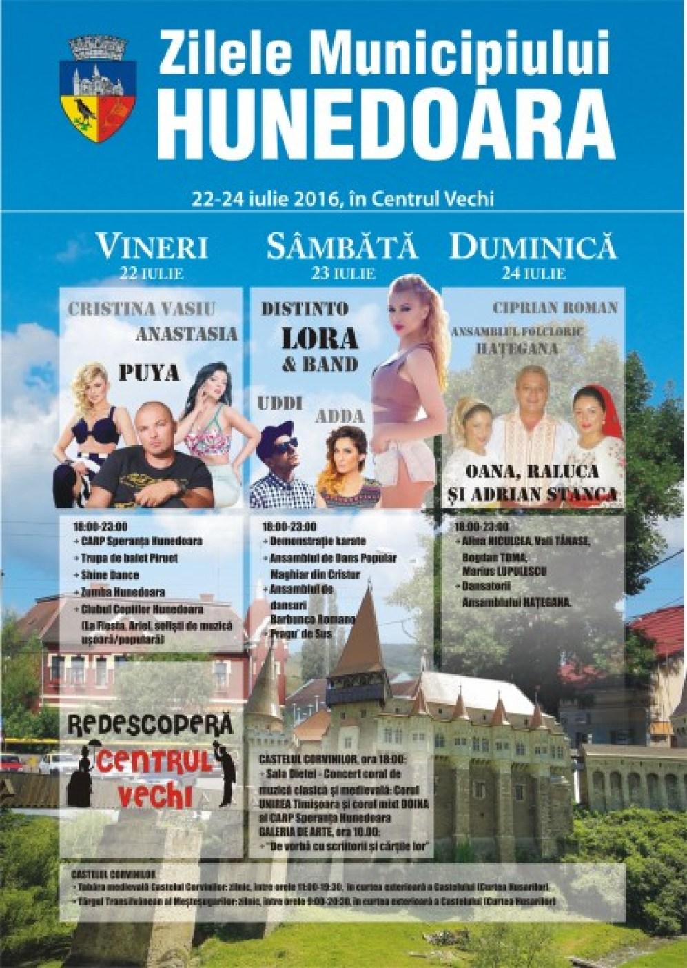 Zilele Hunedoarei 2016