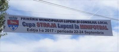 """la Lupeni se dă statul competiței regionale de minifotbal """"Cupa Straja"""" - Ediția I"""