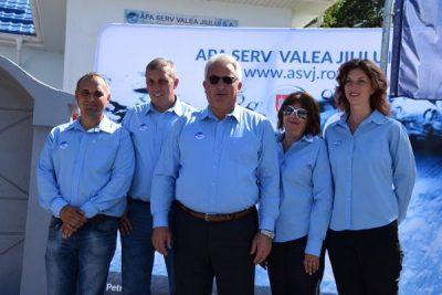 Costel Avram și-a prezentat bilanțul celor 6 ani de activitate la conducerea Apa Serv Valea Jiului