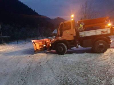 Cum vor acționa pe timp de iarnă drumarii pe sectorul de drumuri județene Hunedoara-Hațeg