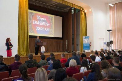 Feed-back pozitiv pentru programele Erasmus+ de la Universitatea din Petroșani
