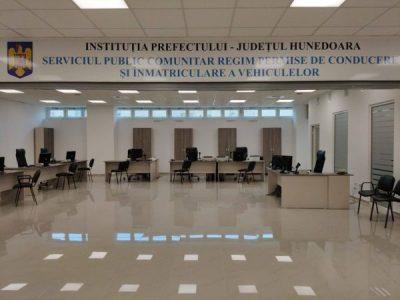 La Petroșani se deschide un sediu secundar al Serviciului de Înmatriculări Auto Hunedoara