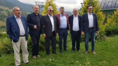 Costel Avram este, în opinia liderilor PSD Marcel Ciolacu și Vasile Dâncu, garanția succesului unui program de dezvoltare locală pentru Valea Jiului