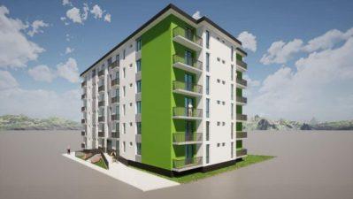 Investiții de 9 milioane de lei la Lupeni, pentru construcția unui bloc de lolcuințe sociale