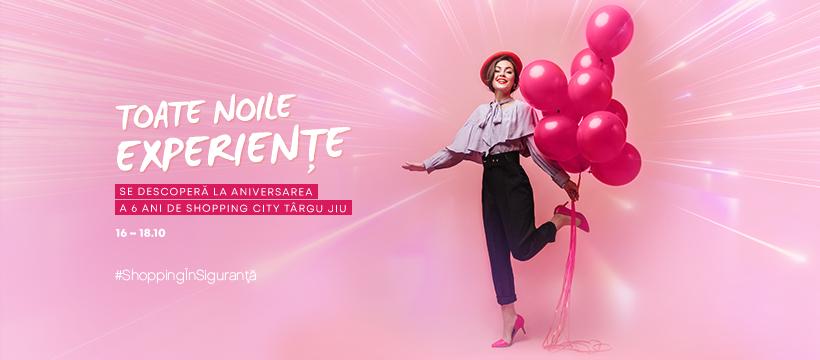 Shopping City Târgu Jiu sărbătorește 6 ani de la lansare, cu noi experiențe și surprize dedicate clienților