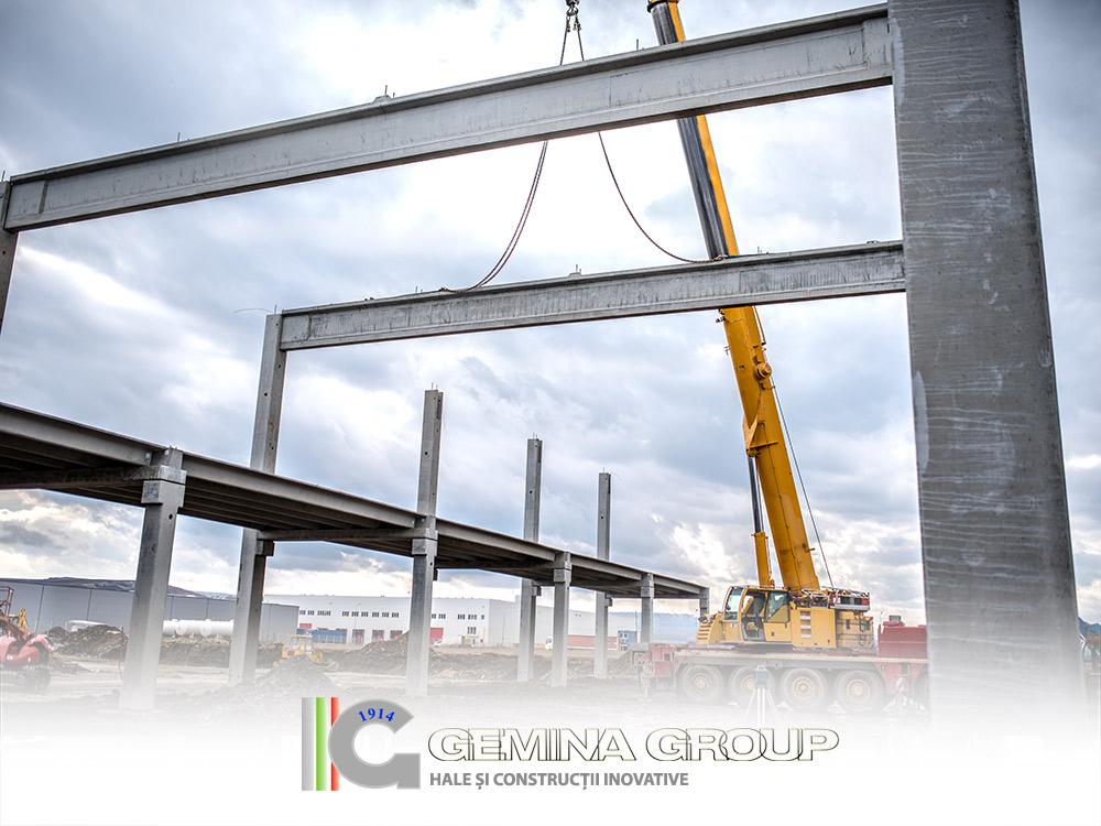 Halele industriale GEMINA reprezintă alternativa eficientă la halele metalice clasice