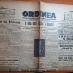 ziarul ordinea 23 august 1935