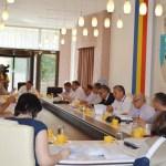 Marți, 23 august, ședință ordinară