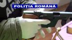 Arme de foc, introduse ilegal în țară, găsite de polițiști la Gohor - Video