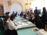 """Reușită întâlnire cu poezia și proza la Școala """"Elena Doamnaˮ"""