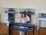 Îmbinare perfectă între daruri și mărțișoare muzicale la Muzeul de Istorie Teodor Cincu
