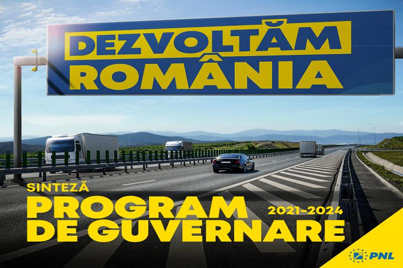 Programul de guvernare al PNL: Salariu mediu net de 1.000 de euro, 970 de km de autostradă și drum expres, pensii mai mari si alocații dublate