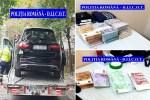 Percheziţii: Zeci de mii de euro, aur şi trei autoturisme  confiscate. 12 persoane reţinute