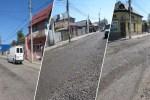 Precizări privind lucrările ce se efectuează pe strada Cuza Vodă Tecuci - Foto