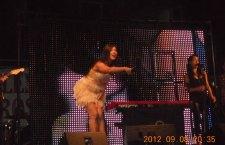 Bere Gratis şi Paula Seling au susţinut un concert  incendiar la Roşiori