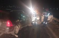 Accident rutier cu victime, la Vitănești, după o depășire neregulamentară
