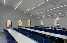 Sală de mese pentru cetățenii din Suhaia, realizată prin Compania Națională de Investiții