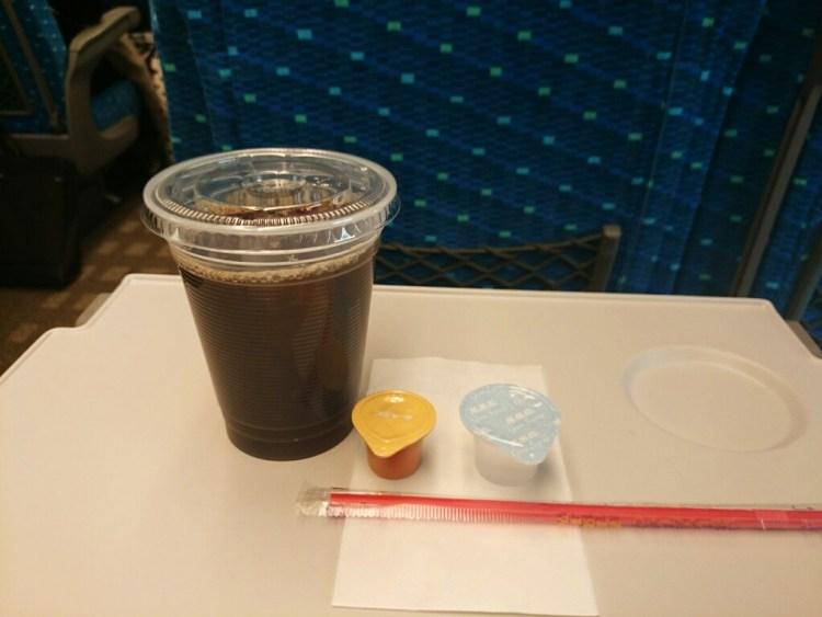 新幹線 アイスコーヒー