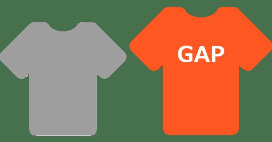 gap サイズ