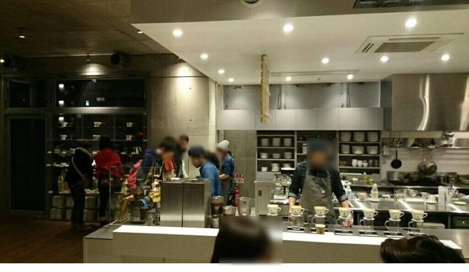 blue bottle coffee 表参道