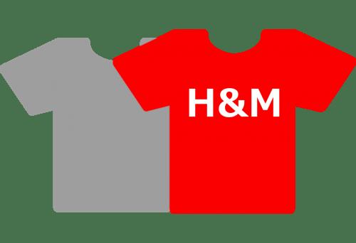 「H&M サイズ表」サイズ選びには確認が必要。基準は外国人サイズ。