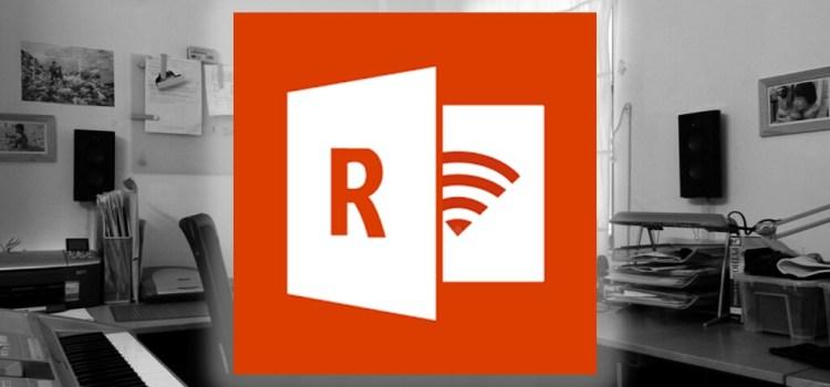 「Office Remote」スマホをリモコンとして使えてプレゼンなどにも便利。