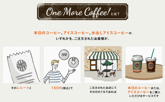 TULLY'S COFFEE(タリーズ コーヒー) One more! Short