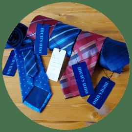アマゾンでネクタイを買ってみた感想。